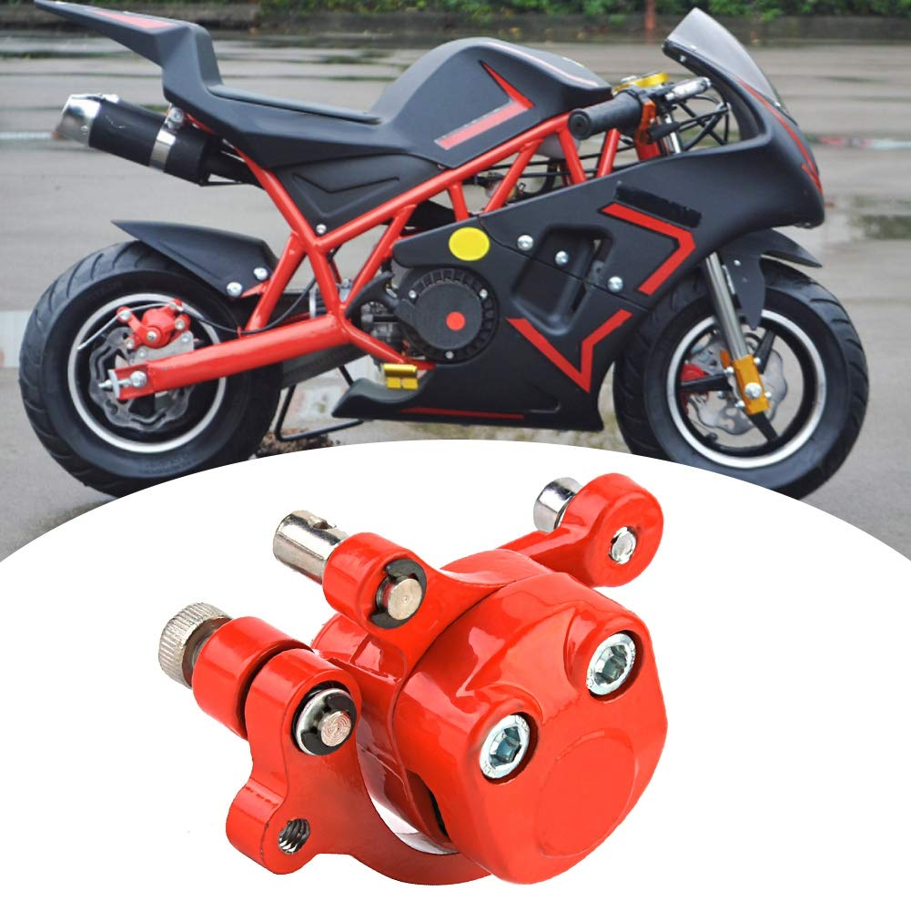 Qii lu 120mm Disco Rotor Pinza de freno para 43 47 49cc el/éctrico Go Kart Scooter Mini Moto