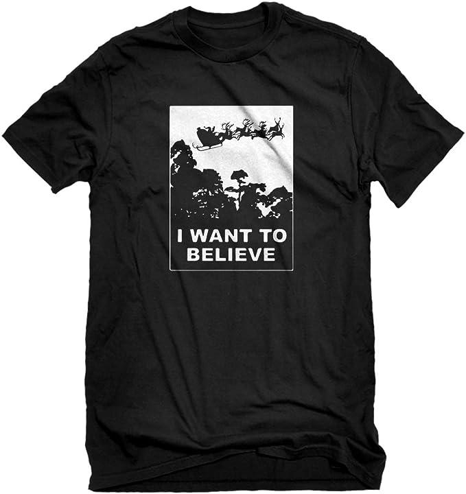 Indica Plateau I Want to Believe Santa Unisex Adult Sweatshirt