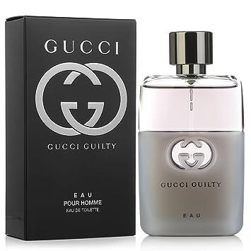 9d29003c4760 Amazon.com   Gucci Guilty Eau Pour Homme Eau de Toilette Spray, 1.6 Ounce    Beauty