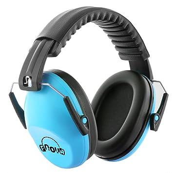 b5a812ae987921 Fnova 防音イヤーマフ 遮音値26dB プロテクター フリーサイズ 折りたたみ型 子供用 自閉症 聴覚