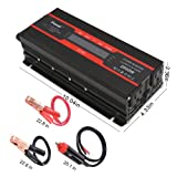 IpowerBingo Power Inverter 1000W/2000W Dual AC
