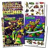 kids stickers ninja - TMNT Teenage Mutant Ninja Turtles Stickers & Tattoos Party Favor Pack (270 Stickers & 50 Temporary Tattoos)