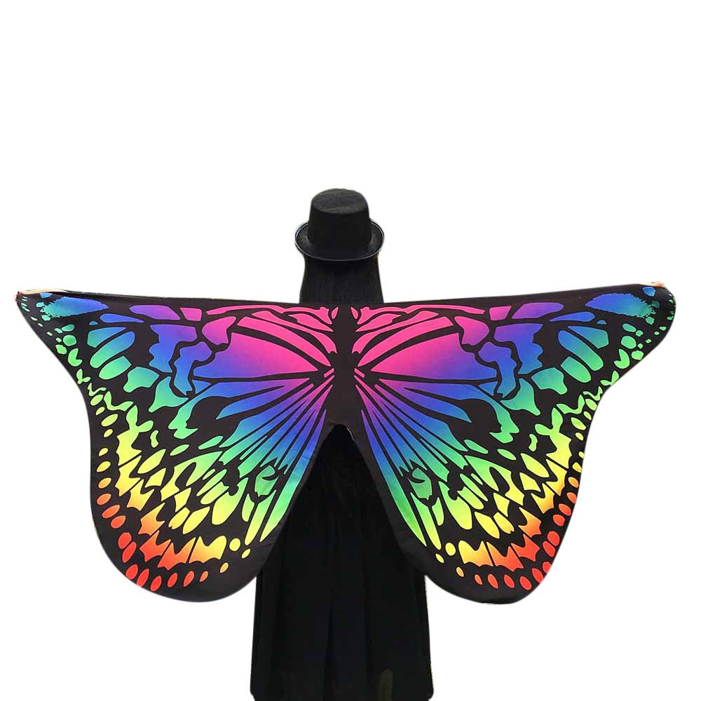 Girl Festival Costume ,GREFER Fashion Butterfly Wings Shawl Fairy Nymph Pixie Costume Accessory for Women