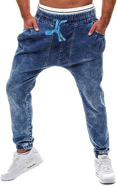 STRIR Pantalones Vaqueros Hombres Pitillo Originales Slim Fit ...