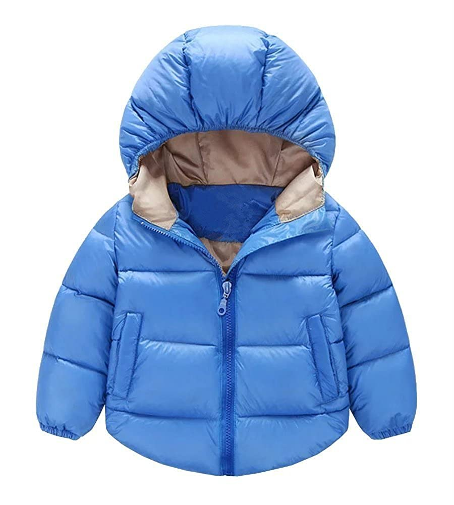 Baby Boys Winter Puffer Coat Kids Boys Thicken Down Jacket Outwear M212