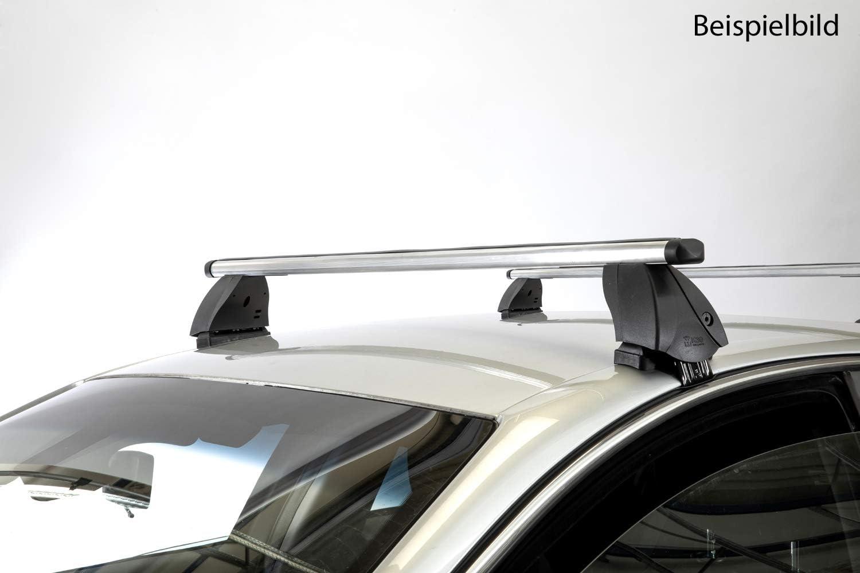 10-17 K13 5T/ürer VDP Dachtr/äger K1 PRO Aluminium kompatibel mit Nissan Micra