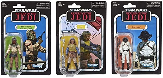 Star Wars Return Of The Jedi Action Figures VC variations