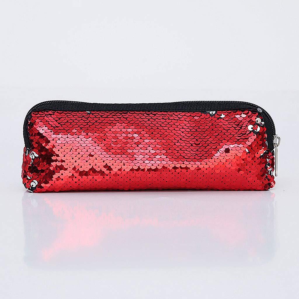 YOFO YOFO YOFO Multifunktionale Mode Glitter Pailletten Federbeutel Federmäppchen Make-Up Werkzeugtasche Aufbewahrungstasche Geldbörse B07HJ7YD61 | Outlet Online  cb4c2c
