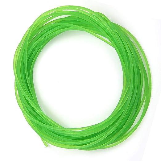 8mm5m Green Conveyor Belt Round Belt Polyurethane Polyurethane Belt for Drive Transmission for Packaging Machine