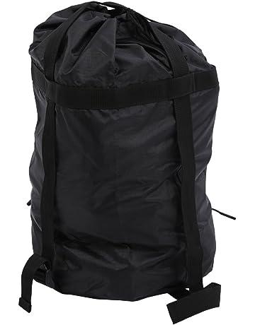 BlueField Ligera bolsa de compresion de Cosas Saco bolso de acampa al aire libre(Negro