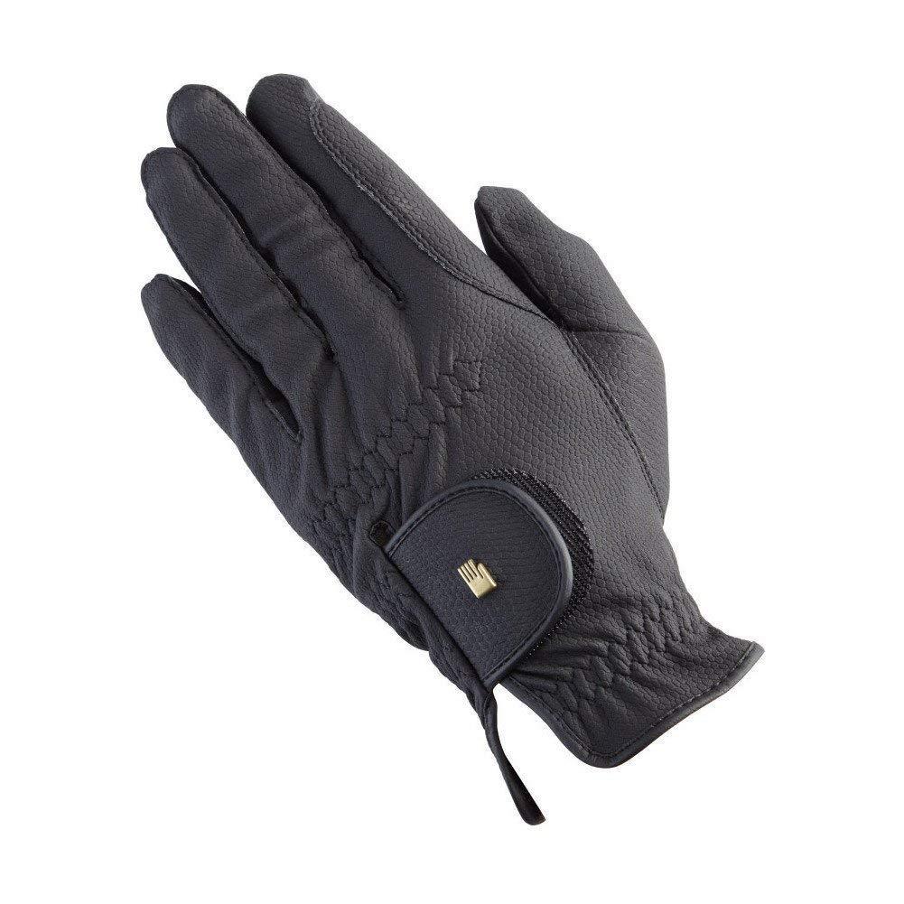 Roeckl Chester手袋 B007ZVCRQM  ブラック Size 6 (16.5 cm)