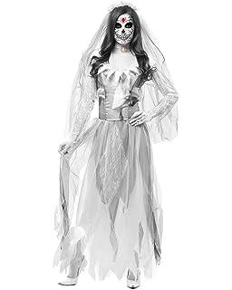 Disfraz Novia Cadaver De Mujer eu Traje Lovestory Halloween iwPuXOZkT