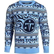 Forever Collectibles NFL FOCO Men's Aztec Print Ugly Crew Neck Sweater