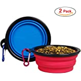 Menpet pet dog travel Bowl