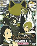 DURARARA (SEASON 1-4) - COMPLETE ANIME TV SERIES DVD BOX SET (1-61 EPISODES)