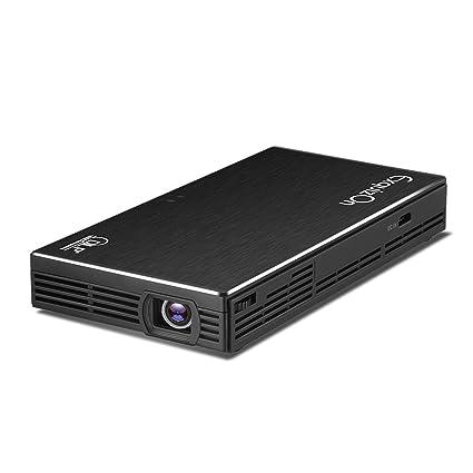 exquizon DLP hdp100s Mini proyector de vídeo de bolsillo Home ...