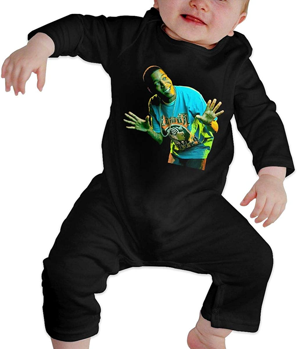 Qq1-asd-store Kid Cudi Boys//Girls Baby Cotton Long Sleeve Romper Warm Bodysuit