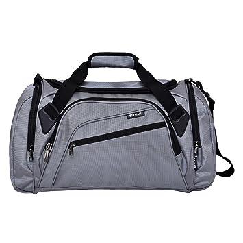 Siyuan Mens Womens Gym Bag Pockets Athletic Gym Bag With Shoe