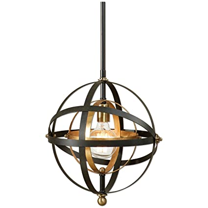 Amazon uttermost 22039 rondure 1 light sphere pendant mini uttermost 22039 rondure 1 light sphere pendant mini mozeypictures Image collections