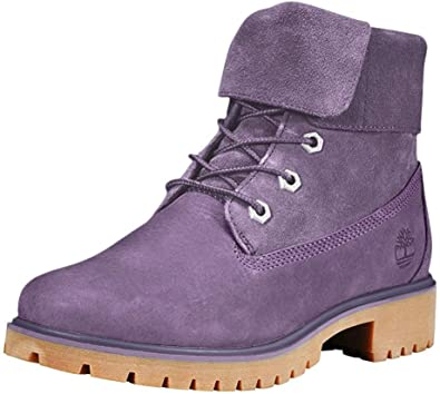 Ruina Publicación Tom Audreath  Amazon.com: Timberland Jayne - Botas plegables para mujer, Morado, 6: Shoes