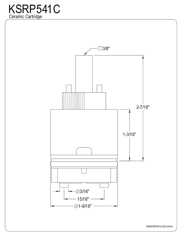 Kingston Brass KSRP1811C Cartridge for KS1811ALBS