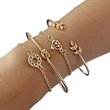 925 Sterling Silver Cuff Chain Wristband Bracelet Bangle One Size Fit All