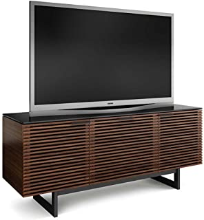 Merveilleux BDI Corridor 8177 Triple Wide TV Cabinet (Chocolate Stained Walnut)