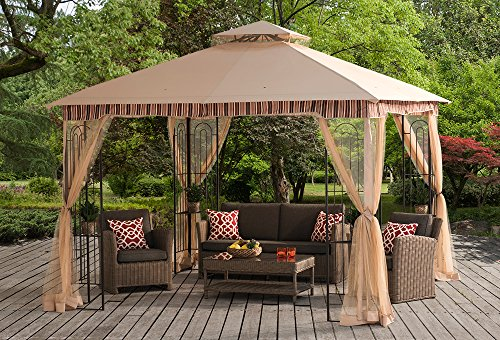 Review Sunjoy 10'x 10′ Lansing