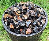 Huge 11 lb Lot Bulk Natural Rough Black Onyx Rock Stone (Crystal Healing Raw)