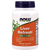 NOW Supplements, Liver Refresh with Milk Thistle Extract and unique Herb-Enzyme...