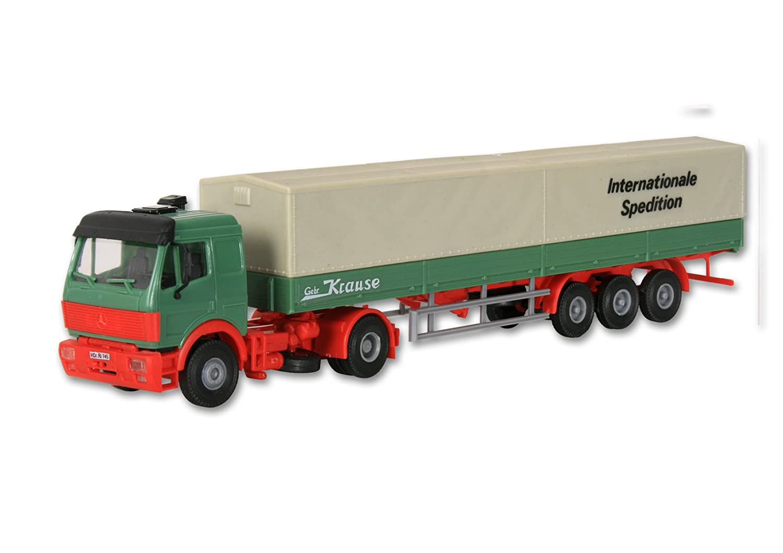 /MB SK Tractor with Planenauflieger Kibri 14643/