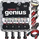 NOCO Genius G4 6V/12V 4.4A 4-Bank UltraSafe Smart