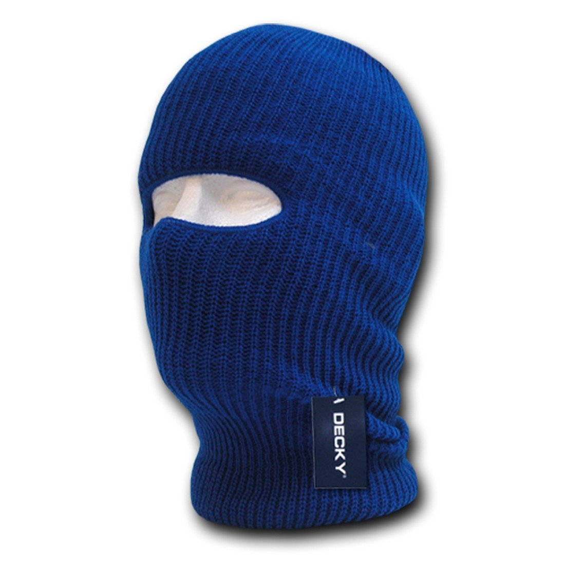 Decky Inc Tactical one Hole Braided Knitting Winter Mask Skull Hat 971 MASK-971