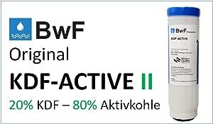 BWF Original KDF Active II filtro de metales pesados I (20% KDF + ...