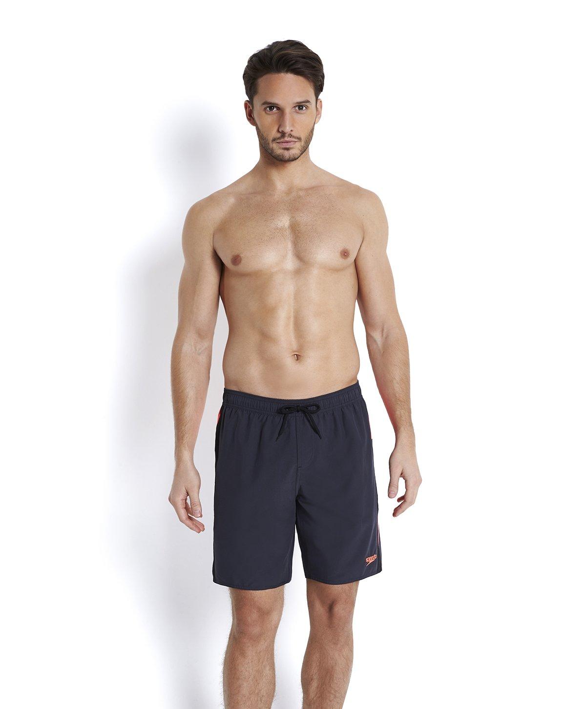 Speedo Men's Logo Yoke Splice Water Shorts