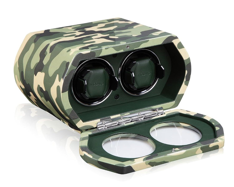 MODALO Chronos Military Uhrenbeweger fÜr 2 Uhren in camouflage 322001