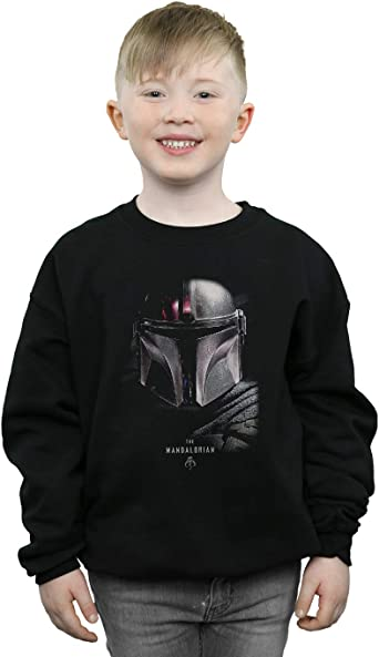 Star Wars Niños The Mandalorian Poster Camisa De Entrenamiento: Amazon.es: Ropa y accesorios