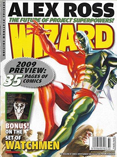 Watchmen l Alex Ross l Alan Moore l Spider-Man - January, 2009 Wizard
