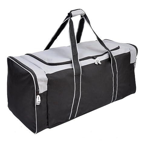 bc8de40ca5fe Jetstream 36 Inch 3-Pocket Hockey Equipment Duffle Bag (Grey)