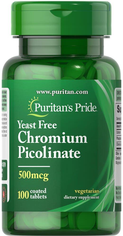 Amazon.com: Puritan's Pride Chromium Picolinate 200 mcg