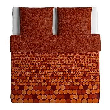 Ikea Bettwäsche Garnitur Smörboll Orange In 3 Größen 240 X 220 Cm