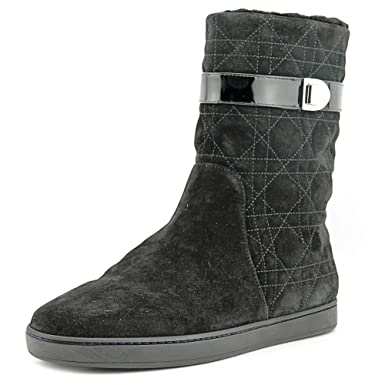 Dior Boots Cannage Snow furred low suede 3J6ecN
