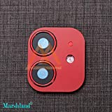 MARSHLAND Converter Upgrade Camera Lens Protector Ultra-Thin High Definition & Anti-Scratch Camera Lens Cover converts Iphone XR into Iphone 11 (6.1, Red)