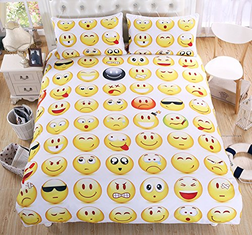 Sleepwish-3Pcs-Emoji-Duvet-Cover-Set-for-Young-People-Bedding-Sets-Twin-Full-Queen-King-Size