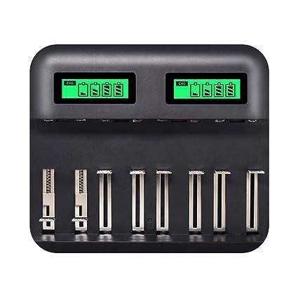 Gojiny - Cargador de batería USB universal para batería ...