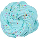 DIGOOD Fluffy Slime Sludge Toy Mixing Cloud Slime Stress Relief Toy Kids Adults Soft Stretchy Non-Sticky