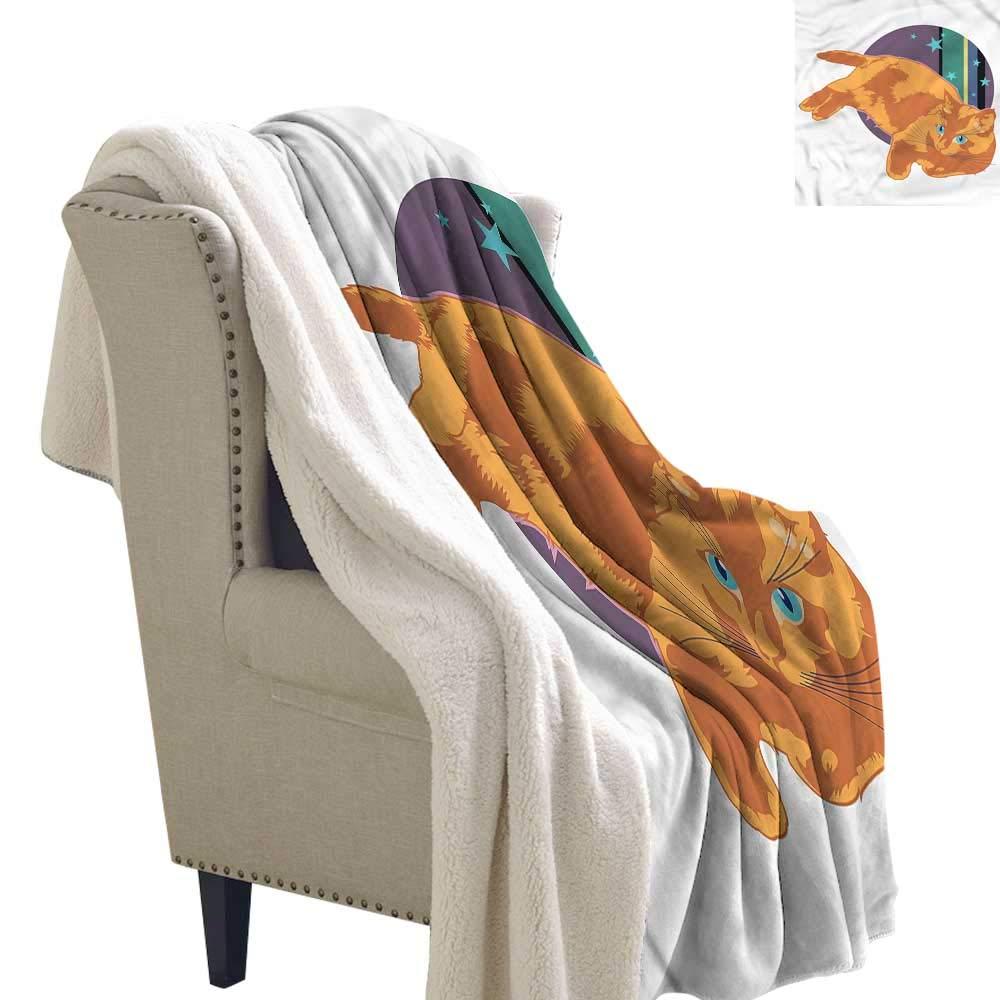 Amazon.com: Beihai1Sun Cat Berber Fleece Blanket Kitties ...