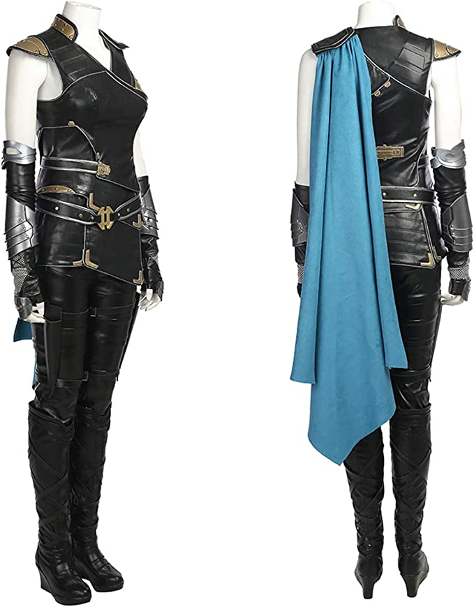 Marvel Avengers Thor 3 Valkyria Valkyrie Battle traje disfraz ...