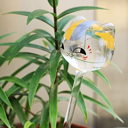 Riego de flores para jardín, riego en frío, sin daños, autorriego automático, sistema de riego automático para interior y exterior cat As Picture Show: Amazon.es: Hogar