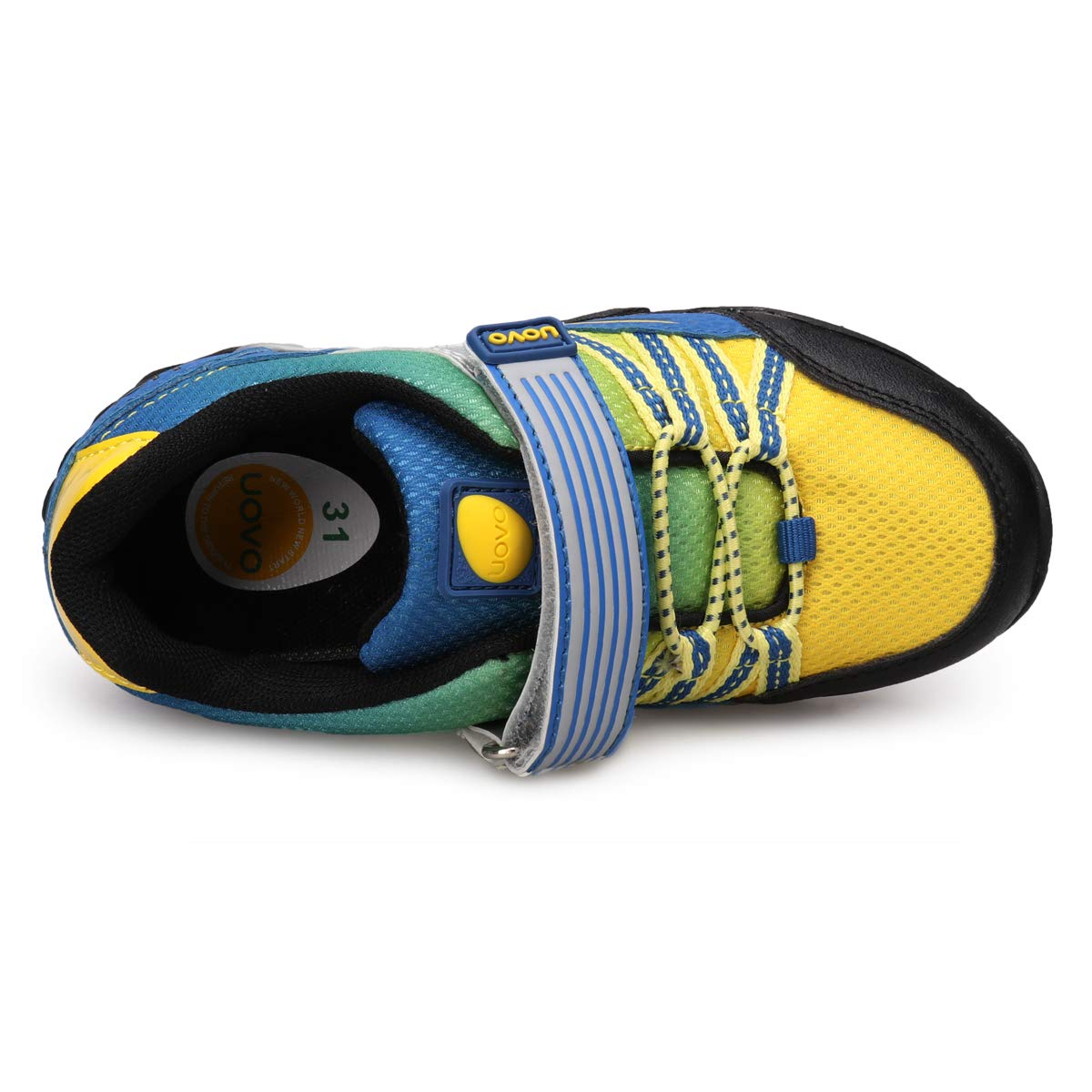 UOVO Little Boys Shoes Running Sneakers Kids Hiking Athletic Tennis Shoes for Toddler Boys Blue by UOVO (Image #4)